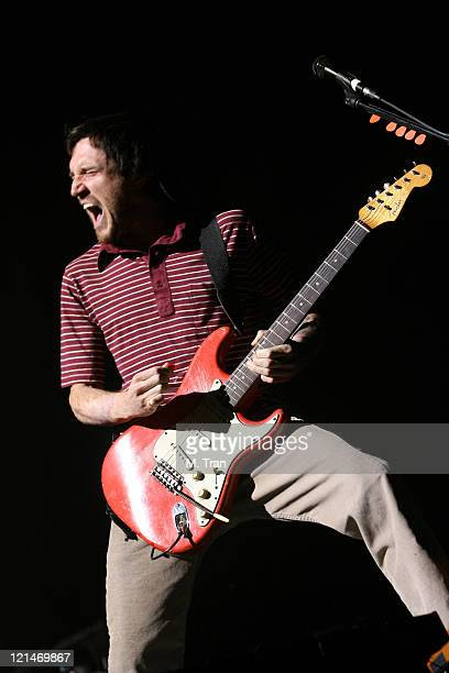 John Frusciante of Red Hot Chili Peppers during Coachella Valley Music and Arts Festival Day Two Red Hot Chili Peppers at Empire Polo Field in Indio...
