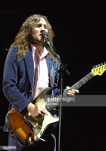 John Frusciante of Red Hot Chili Peppers during Fuji Rock Festival '06 Day 2 Red Hot Chili Peppers at Naeba Ski Resort in Yuzawa Japan