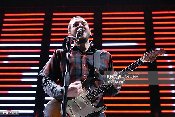 John Frusciante of The Red Hot Chili Peppers during Red Hot Chili Peppers in Concert - December 12, 2006 at Globen in Stockholm, Sweden.
