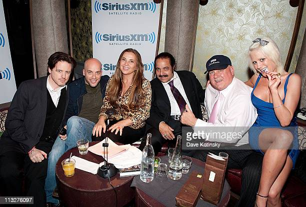 John Fugelsang Pete Dominick Judith Regan Pornographic actor Ron Jeremy Bunny Ranch's Dennis Hof and Cami Parker attend the book launch party for The...