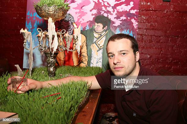 John Gagliano attends UNRULY HEIR Private Launch Party at Bella's on May 9 2007 in New York City