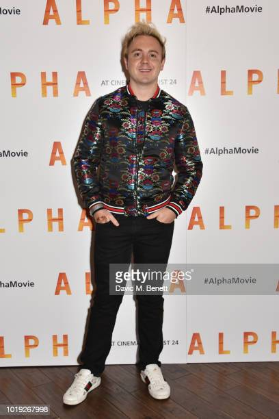 John Galea attends the Gala Screening of Alpha at Picturehouse Central on August 19 2018 in London England