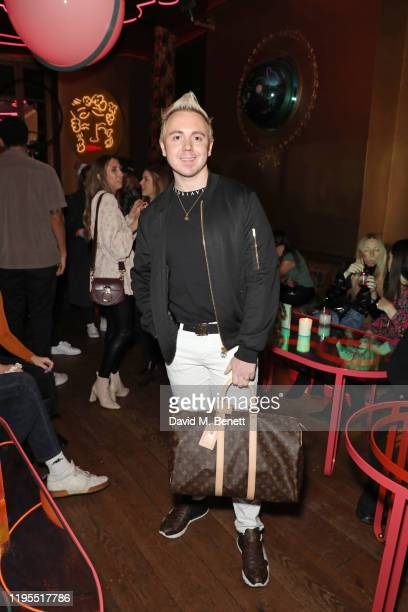 John Galea attends the launch of Muse by Coco De Mer at Sketch on January 23 2020 in London England