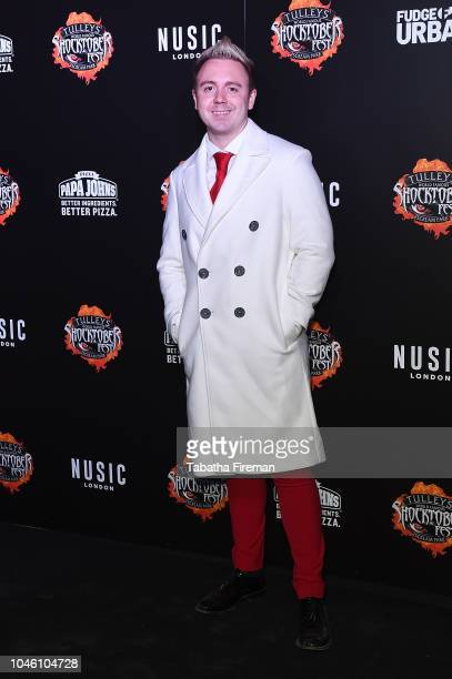 John Galea attends the press night for Shocktober Fest at Tulleys Farm on October 5 2018 in Crawley West Sussex