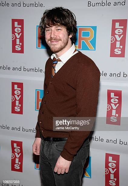 John Gallager Jr attends the Broadway Premiere of Hair hosted by Levi's at Al Hirschfeld Theatre on March 31 2009 in New York City