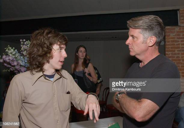 John Gallagher Jr and Producer John Lyons during 'Pieces of April' Special Screening After Party at UA East Hampton Theater in East Hampton New York...