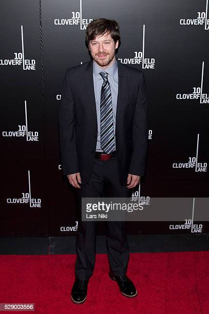 John Gallagher Jr attends the 10 Cloverfield Lane Premiere at the AMC Loews Lincoln Square 13 in New York City �� LAN
