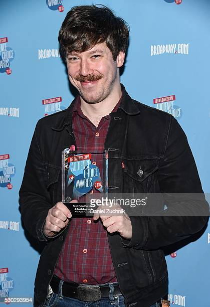 John Gallagher Jr attends the 17th Annual Broadwaycom AudienceChoice Awards Cocktail Reception on May 10 2016 in New York New York