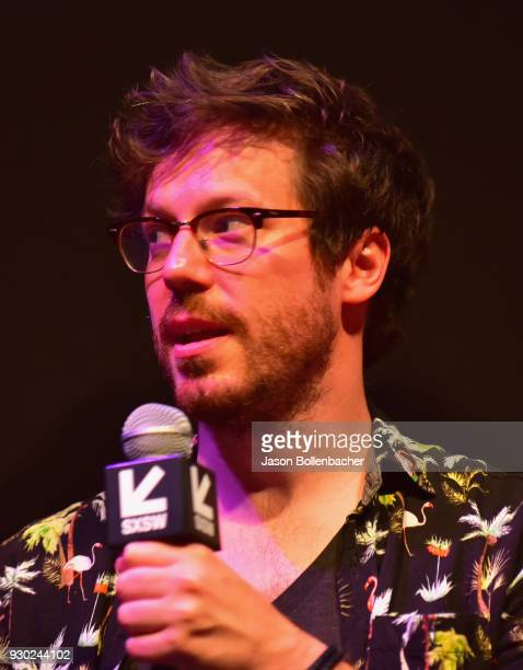 John Gallagher Jr speaks onstage at the premiere of 'SADIE' during SXSW at Stateside Theater on March 10 2018 in Austin Texas