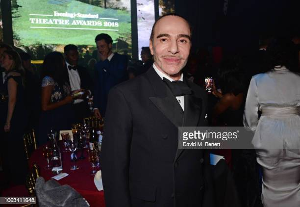 John Galliano attends The 64th Evening Standard Theatre Awards after party at the Theatre Royal Drury Lane on November 18 2018 in London England