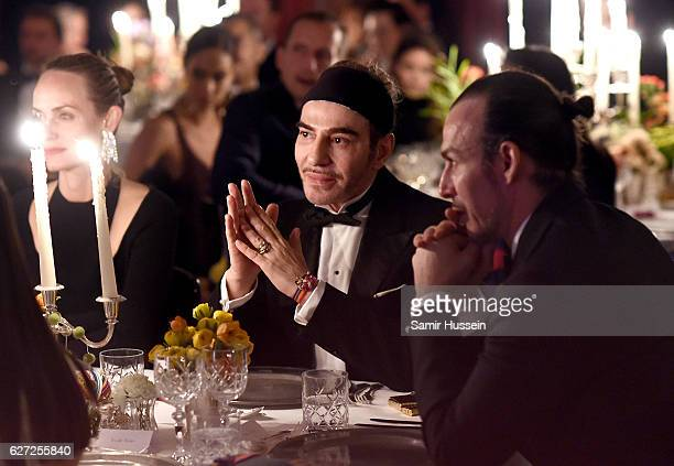 John Galliano attends the gala dinner as The Business of Fashion Presents VOICES on December 2, 2016 in Oxfordshire, England.