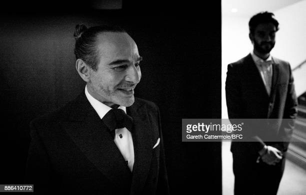 John Galliano is seen backstage during The Fashion Awards 2017 in partnership with Swarovski at Royal Albert Hall on December 4 2017 in London England