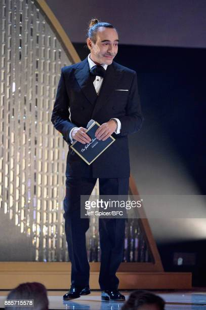 John Galliano presents an award during The Fashion Awards 2017 in partnership with Swarovski at Royal Albert Hall on December 4 2017 in London England