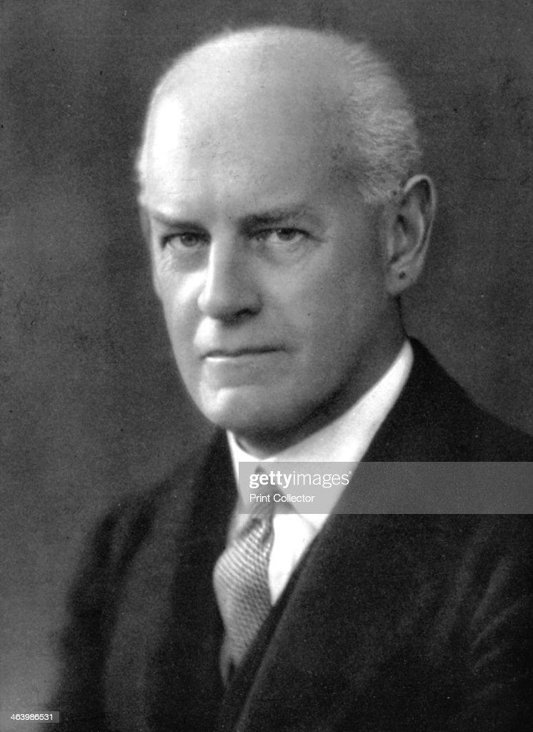 John Galsworthy (1867-1933), English novelist and playwright, early 20th century. : News Photo