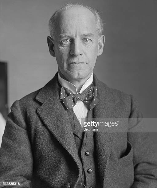 John Galsworthy, English novelist and playwright is shown here for the Lowell Celebration.