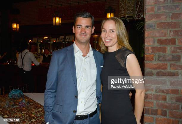 John Gannon and guest attend The Turtle Conservancy's 4th Annual Turtle Ball at The Bowery Hotel on April 17 2017 in New York City
