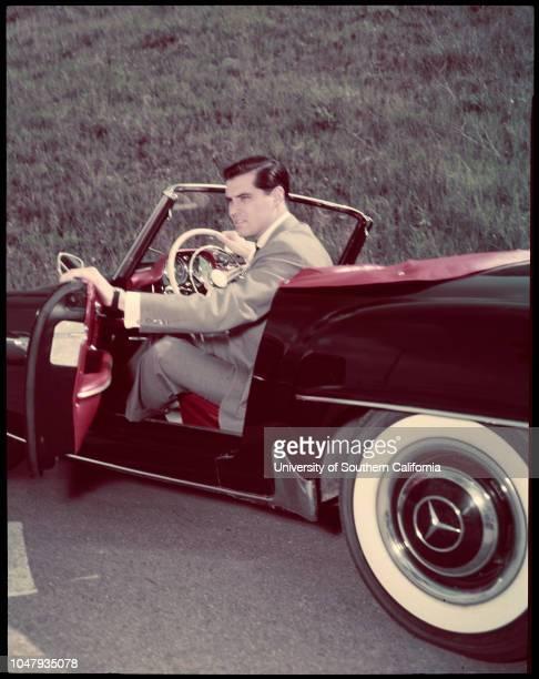 John Gavin 27 April 1958 Pictorial living negatives colored
