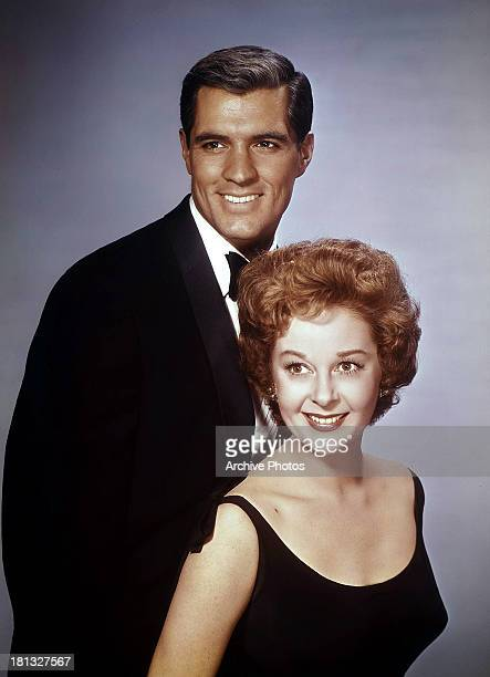 John Gavin and Susan Hayward in publicity portrait for the film 'Back Street' 1961