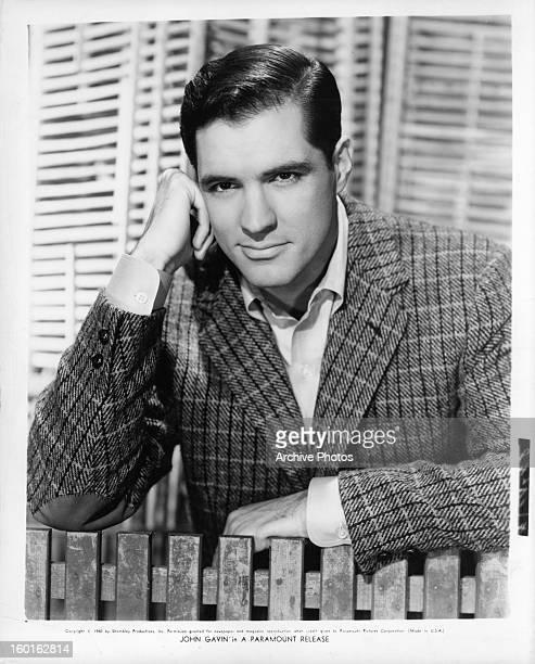 John Gavin in publicity portrait for the film 'A Breath Of Scandal' 1960