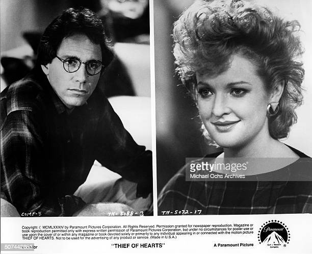 John Getz as Ray Davis plays a successful author Christine Ebersole as Janie Pointer looks on in a scene from the Paramount Pictures movie Thief of...