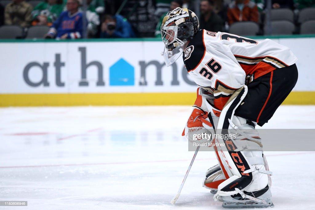 Anaheim Ducks v Dallas Stars : News Photo
