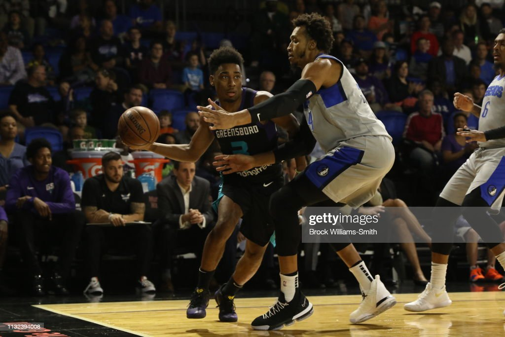 NC: Texas Legends v Greensboro Swarm