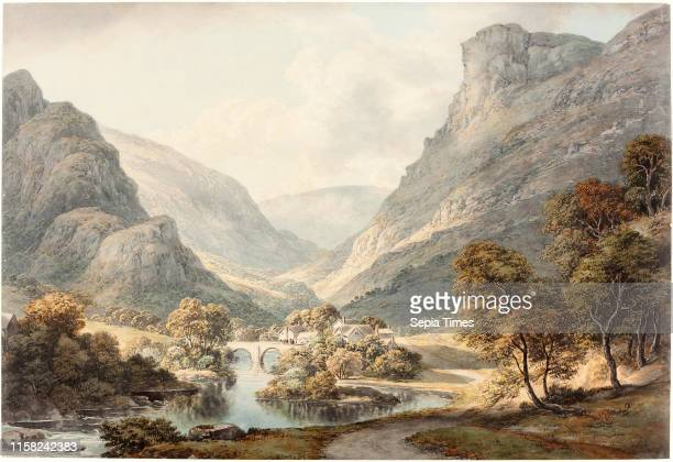 John Glover A View of Dovedale c 1825 watercolor over graphite on wove paper