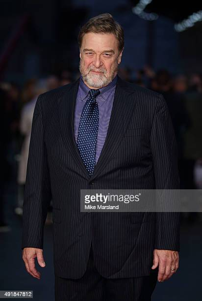 John Goodman attends a screening of 'Trumbo' during the BFI London Film Festival at Odeon Leicester Square on October 8 2015 in London England