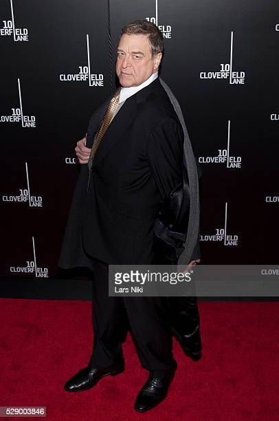 John Goodman attends the 10 Cloverfield Lane Premiere at the AMC Loews Lincoln Square 13 in New York City �� LAN