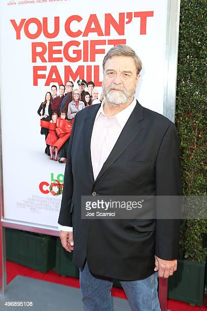 John Goodman attends the 'Love The Coopers' Holiday Luncheon Benefiting The LA Regional Food Bank at The Grove on November 12 2015 in Los Angeles...