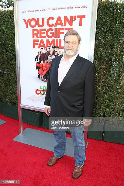 John Goodman attends the Love The Coopers Holiday Luncheon Benefiting The LA Regional Food Bank at The Grove on November 12 2015 in Los Angeles...