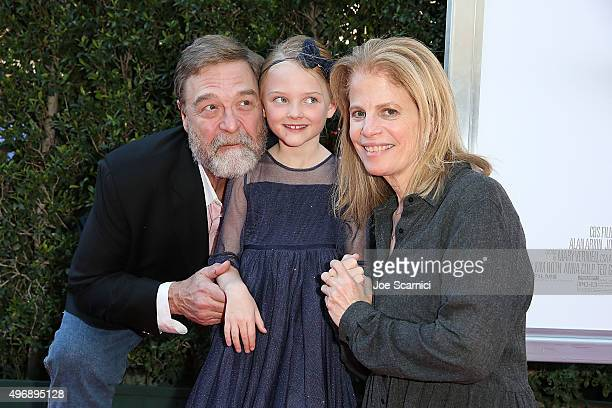 John Goodman Blake Baumgartner and Director Jessie Nelson attend the Love The Coopers Holiday Luncheon Benefiting The LA Regional Food Bank at The...
