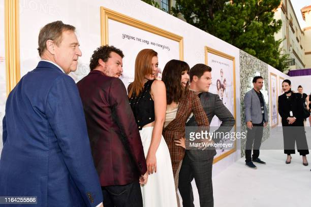 John Goodman Danny McBride Cassidy Freeman Edi Patterson and Adam DeVine attends the Los Angeles premiere of New HBO Series The Righteous Gemstones...