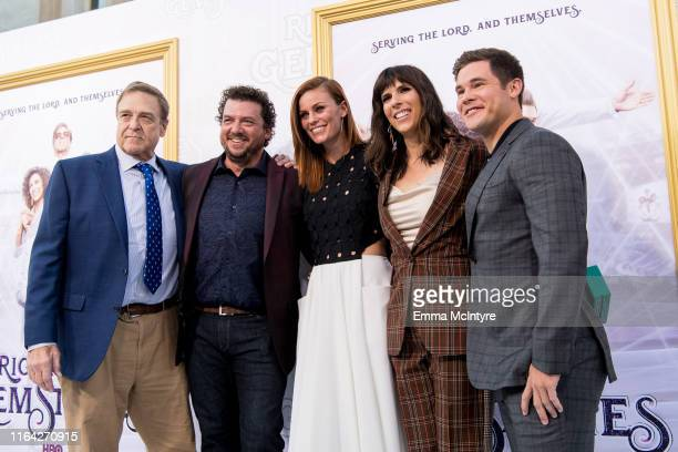 John Goodman Danny McBride Cassidy Freeman Edi Patterson and Adam DeVine attend the Los Angeles premiere of the new HBO series The Righteous...