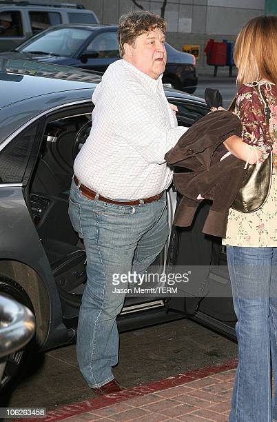 John Goodman during The Trevor Project's Cracked Xmas 9 Arrivals at The Wiltern LG in Hollywood California United States