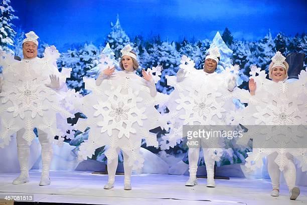 LIVE 'John Goodman' Episode 1650 Pictured John Goodman Vanessa Bayer Keenan Thompson Aidy Bryant during the 'Dance of the Snowflakes' skit