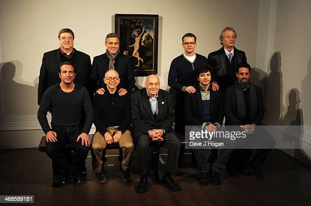 John Goodman, Jean Dujardin, George Clooney, Bob Balaban, Henry Ettlinger, Matt Damon, Dimitri Leonidas, Bill Murray and Grant Heslov attend a...