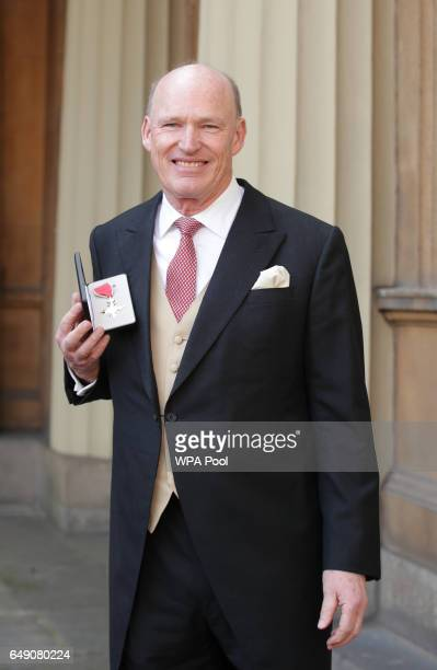 John Gosden after he was awarded a OBE by Queen Elizabeth II for services to horseracing and training during an Investiture ceremony at Buckingham...