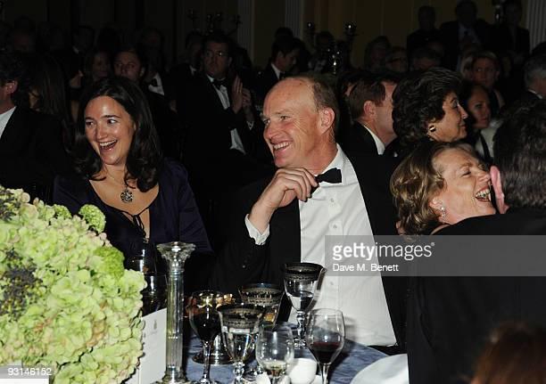 John Gosden and Lady Lloyd Webber attend the Cartier Racing Awards at Claridges on November 17 2009 in London England