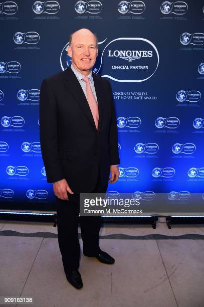 John Gosden attends the Longines World's Best Racehorse Longines World's Best Horserace ceremony hosted by Longines and IFHA at Claridge's Hotel on...