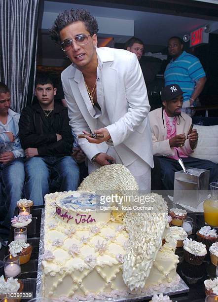 John Gotti Agnello during John Gotti Agnello's 18th Birthday Party at 49 Grove in New York City New York United States