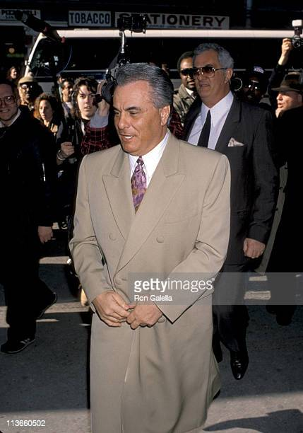 John Gotti and Peter Gotti during John Gotti At The New York Federal Courthouse at New York Federal Court House in New York City New York United...