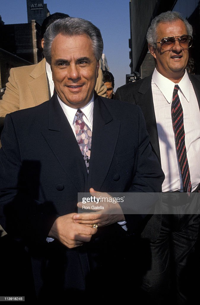 John Gotti Court Appearance - February 8, 1990