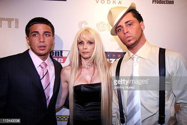 John Gotti Victoria Gotti and Carmine Gotti during Ruff Ryders Host Carmine Gotti 21st Birthday Party at China Club in New York City New York United...