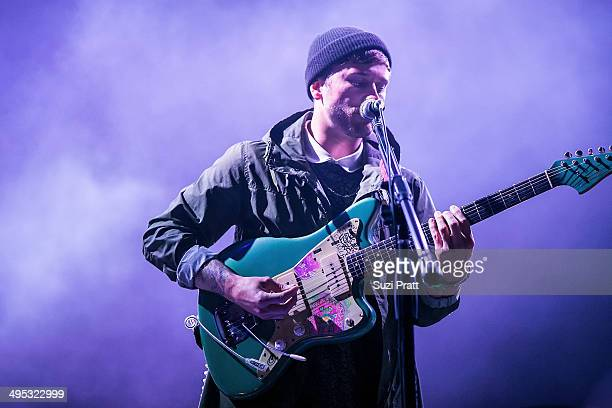 John Gourley of Portugal the Man performs at the Sasquatch Music Festival at The Gorge on May 25, 2014 in George, Washington.