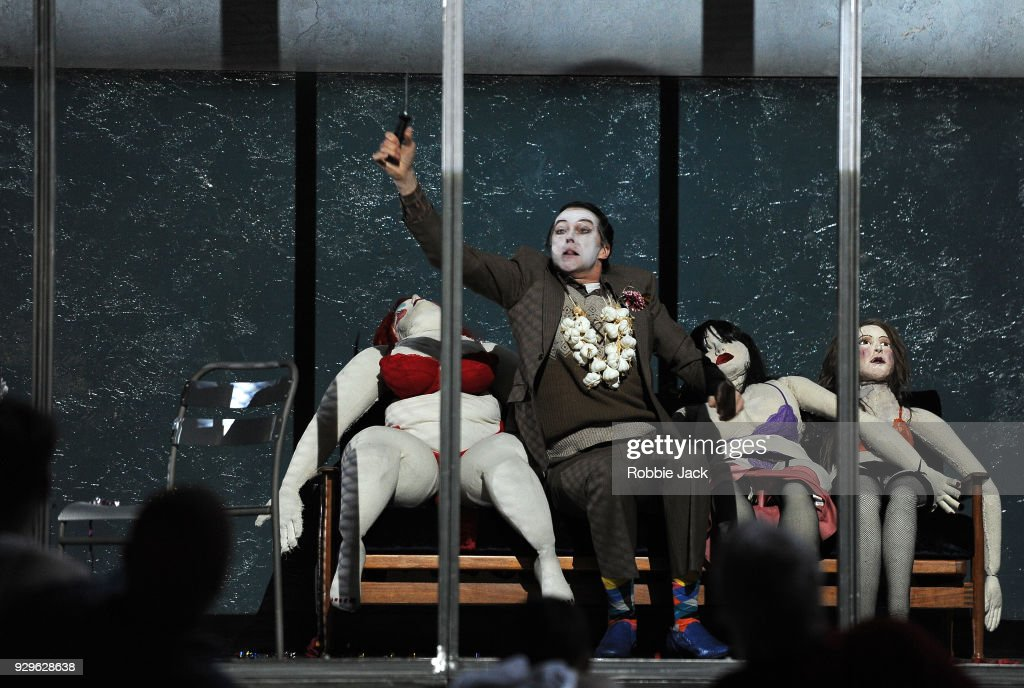 John Graham-Hall as Kedril in the Royal Opera's production of Leos Janacek's From the House of the Dead directed by Krzysztof Warlikowski and conducted by Mark Wigglesworth at the Royal Opera House on March 6, 2018 in London, England.