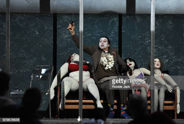 John GrahamHall as Kedril in the Royal Opera's production of Leos Janacek's From the House of the Dead directed by Krzysztof Warlikowski and...