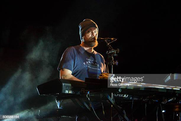 John Grant performs at the Celtic Connections Festival at Glasgow Royal Concert Hall on January 26 2016 in Glasgow Scotland