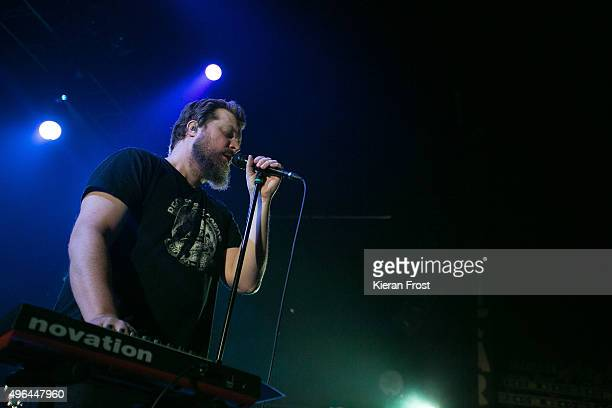 John Grant performs at Vicar Street on November 9 2015 in Dublin Ireland