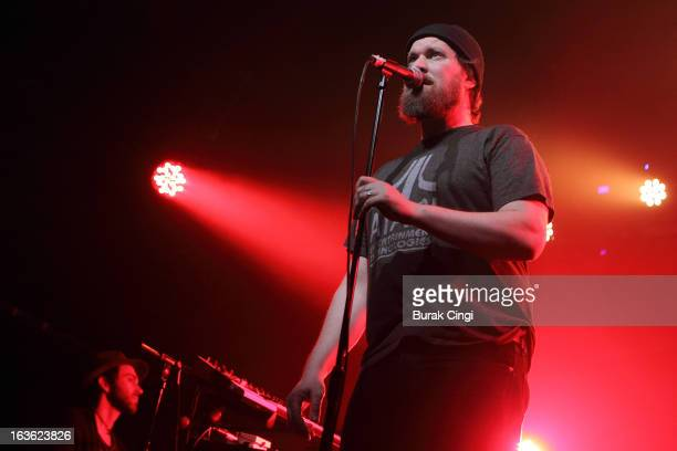 John Grant performs on stage at Heaven on March 13 2013 in London England